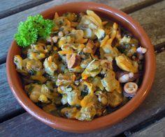 Tapas - Meeresfrüchte Salat - Katha-kocht!