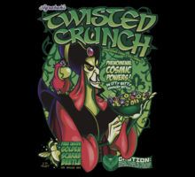 """Twisted Crunch"" by Gilles Bone Cereal design inspired by Jafar of Aladdin Phenomenal cosmic powers! Day Of The Shirt, Jafar, Comic Con Cosplay, Pixar Movies, Disney Tees, Cultura Pop, Disney Villains, Disney Magic, Disney Fun"