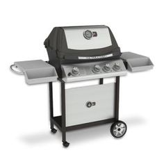 Found it at Wayfair - Ultra Chef Gas Grill on Cart Foyers, Natural Gas Bbq Grill, Gas Grill Reviews, Chef Grill, Bbq Guys, Grill Cart, Rotisserie Grill, Stainless Steel Tubing, Foyer