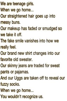 Teenagers and cheerleaders  this is for ya!