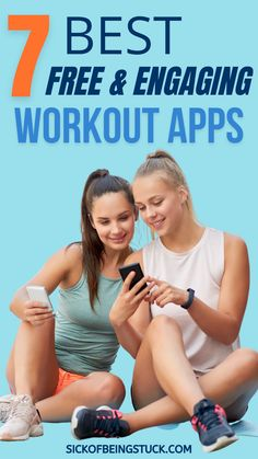 Read about 7 best workout apps to make your fitness journey easier. These apps entertain you in different ways and make workouts more funny.#workout #fitnessapps #fitnessjourney #workoutathome Best Workout Apps, Fun Workouts, At Home Workouts, Fitness Workouts, Group Fitness, Fitness Goals, Fitness Motivation, Daily Stretching Routine, Over 50 Fitness