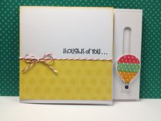 "made by ejp: Interactive card - video tutorial **** Ezlie J. Perez design.  SU ""Up, Up, & Away"""
