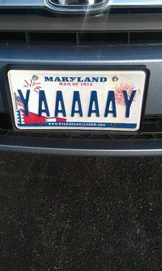 Cool license plate