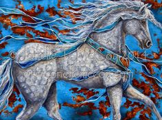 Whimsical Art International: Art by Oklahoma Abstract Contemporary Equine Artist Jonelle T. McCoy