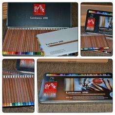 Review: Luminance Colored Pencils by Caran d'Ache | Parka Blogs