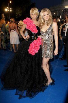 Lena Gercke und Larissa Marolt beim Life Ball 2009