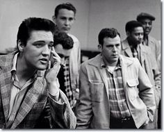 Elvis Army Induction 1958