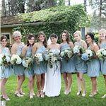Real Weddings - blue