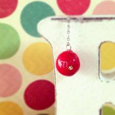 m&m's earring