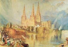 J.M.W. Turner. Lichfield Cathedral
