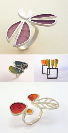TheCarrotbox.com modern jewellery blog : obsessed with rings // feed your fingers!: Silina Pandelidou / Karen Fox