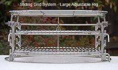 Sliding Grids - Ceramic Grill Store | Big Green Egg® Custom Fabricated Accessories
