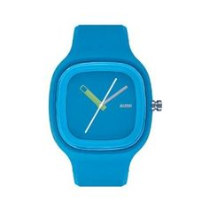 Alessi Men's AL10012 Kaj Polyurethane Light Blue Designed by Karim Rashid Watch alessi. $115.00. Stainless steel case. Case diameter: 38 mm. Water-resistant 3 atm. Analog display;. Automatic Movement