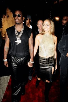 Before they got together they were just Jennifer Lopez and Puff Daddy, but together they were J.Lo and P.Diddy: super famous, glamorous, and just a little dangerous. A little too dangerous, apparently, since they broke up following a late 1999 shooting incident outside a club in New York City. - HarpersBAZAAR.com