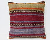 fall kilim pillow 20x20 couch pillow craft large outdoor pillow rustic oversize throw pillow knit large sofa pillow extra large pillow 27169