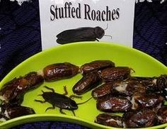 Stuffed Roaches Halloween Finger Foods Recipe