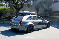 Hauler Cadillac CTS-V wagon wide body