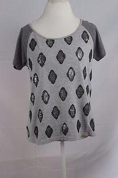 Ann-Taylor-Loft-Women-039-s-Blouse-Top-Shirt-size-XS-Short-Sleeve-Pullover-Career
