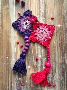 Little Treasures: Crochet Adorno Adorno de pared