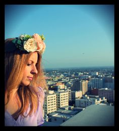 {diy flower crowns}