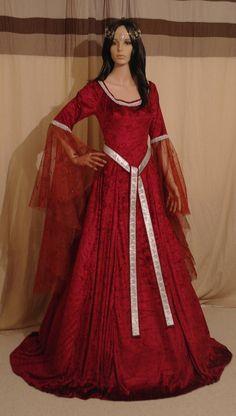 c2b7f7d93a70 google 1600 medieval clothes clothes - Sök på Google Medeltidsdräkt,  Gotiskt Bröllop, Brudklänningar,
