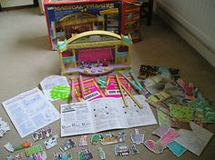 Bluebird Magical Theatre 1980's Toy Theatre Playset plus many extras | eBay  Working lights