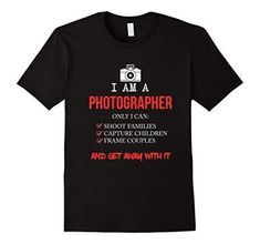 Fathers Day Gift Dad Grandpa Funny Daughter t Shirt Fathers Day Gifts, Gifts For Dad, Photographer Humor, How To Get Away, Cheap T Shirts, Funny Me, Branded T Shirts, Birthday Shirts, Neck T Shirt