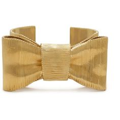 twirl bow cuff ($175) ❤ liked on Polyvore featuring jewelry, bracelets, kate spade, accessories, jewelry bracelets, women, kate spade jewelry, party jewelry, cuff jewelry and kate spade bangle