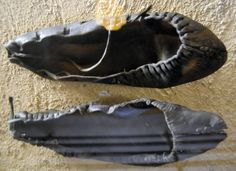 Medieval Novgorod Leather Shoes
