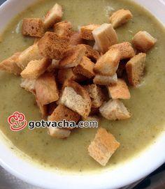 Зеленчукова крем-супа от броколи и картофи
