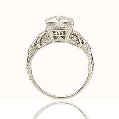 Circa 1920s Engagement Ring - VR141031-01