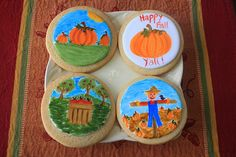 Fall Hand-Painted Cookies