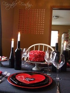 60-Cool -and -Beautiful- Valentine- Table -Decorating- Ideas _50