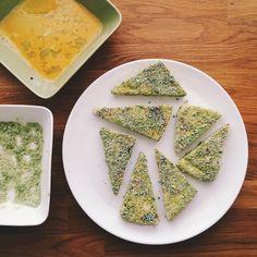 Arkiruokaa: Hernerouheella paneroidut leipäjuustot ja tomaatti-kermakastike - Mamma rimpuilee
