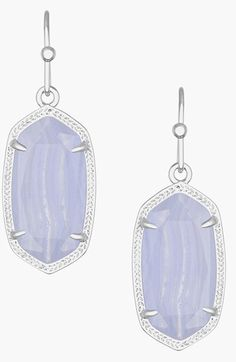 Free shipping and returns on Kendra Scott 'Dani' Stone Drop Earrings at Nordstrom.com. Beautifully etched metal frames shimmering oval stones that swing from bold drop earrings.