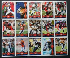 2012 Topps Denver Broncos Team Set of 15 Football Cards #DenverBroncos Football Cards, Baseball Cards, Denver Broncos Team, Ebay, Soccer Cards