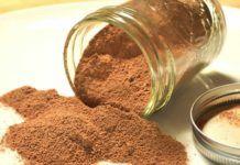 Recette Cacao maison avec Thermomix