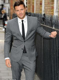 The Only Way is Littlewoods for Mark Wright! Star makes his first foray into fashion unveiling dapper menswear line Mens Fashion Suits, Mens Suits, Men's Fashion, Blazer Suit, Suit Jacket, Mark Wright, The Rock Dwayne Johnson, Best Selfies, Vs Fashion Shows