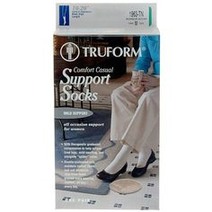Truform Women's Comfort Casual Mild (8-15 mm) Support Socks Small - 1 pr: An ideal footwear accessory for… #Pharmacy #OnlinePharmacy #Health