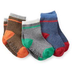 3-Pack Striped Socks | Carter's