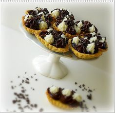 Le Torte di Pezzettiello e non solo...: Crostatine con crema senza uova