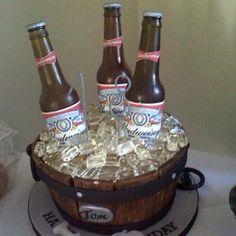 Man's birthday cake!