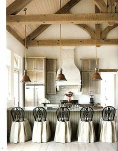 Rustic industrial kitchen with high #decoracao de casas #design bedrooms #office design| http://hotelinteriordesign.blogspot.com