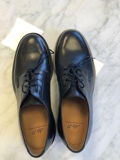 6bd4470fdcb Mr. Porter Black Jacques Mens Derby Shoes Brand New Never Work In Black   fashion