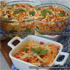 Esta delicia de Salada de Couve Flor é super refrescante e pode ser servida em uma ocasião especial ou hj no #jantar!  #Receita aqui: http://www.gulosoesaudavel.com.br/2016/03/14/salada-couve-flor-refrescante/