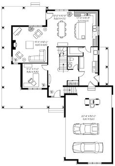 Lakeside Cottage Floor Plan