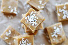 Raw Tahini Date Fudge, Vegan + Gluten-free - The Colorful Kitchen