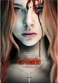 Fanmade poster for the upcomming remake of Carrie, with Chloe Grace Moretz