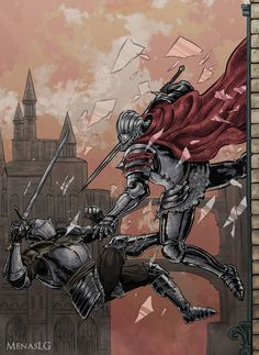 Dark Souls 3: Battle of Steel by MenasLG on DeviantArt