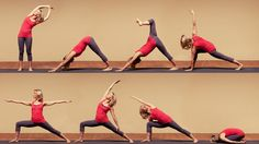 Wake up happy morning yoga sequence